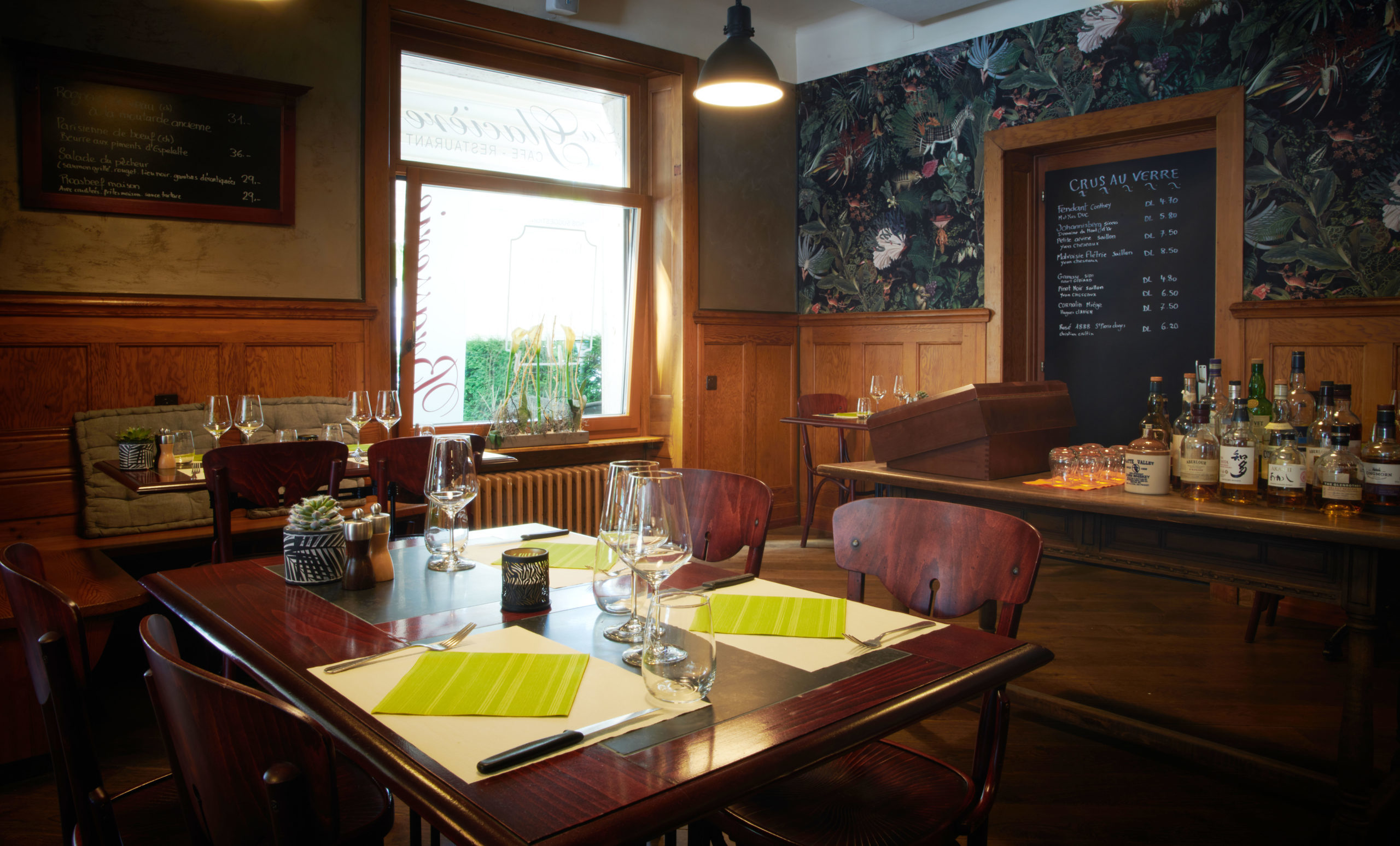 Sion, le 12 juin 2020,Restaurant Brasserie de la Glacière  © sedrik nemeth